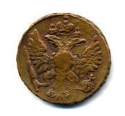 Денга 1748 Елизавета медь